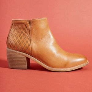 Anthropologie Silent D Orvis Perforated Booties